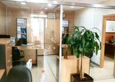 Despacho de cristal